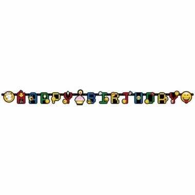 Emoji slingers happy birthday