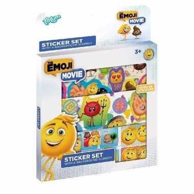 Emoji sticker set 3 vellen