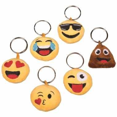 Emoticon sleutelhanger met geluid lachende