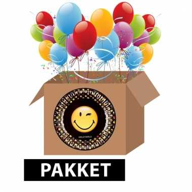 Emoticon themafeest pakket