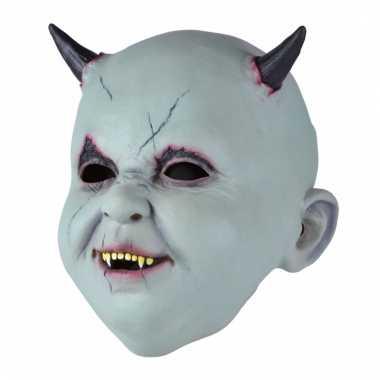 Enge baby duivel duivel masker voor volwassenen
