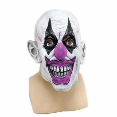 Enge clown masker voor volwassenen