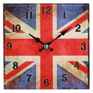 Engeland glazen tafelklokje