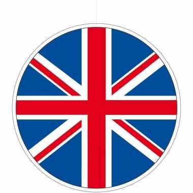 Engeland/groot brittannie hangdecoraties 28 cm