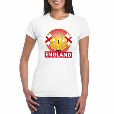 Engeland kampioen shirt wit dames