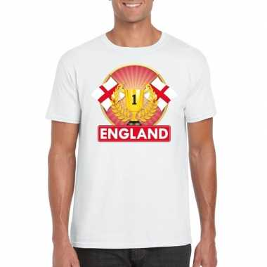 Engeland kampioen shirt wit heren