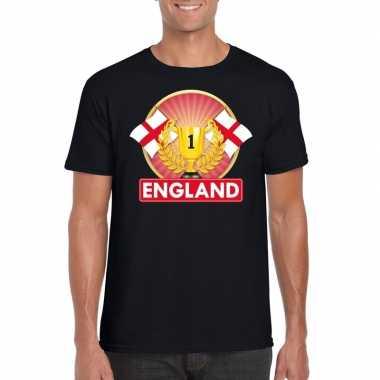 Engeland kampioen shirt zwart heren