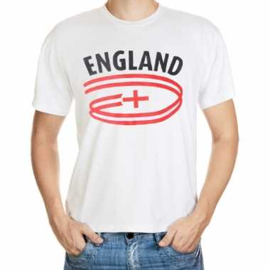 Engeland t-shirt met vlaggen print