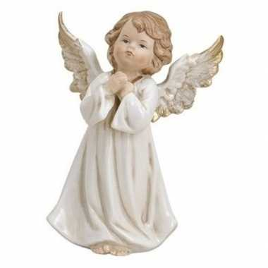 Engelen beeldje biddend 9 cm