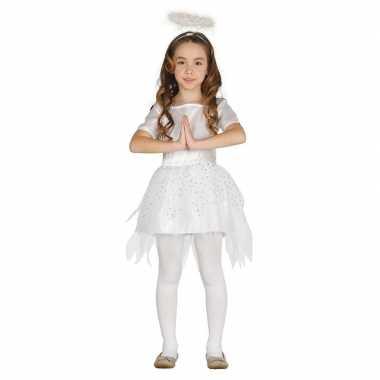 Engelen kostuum raziel met aureool/halo voor meisjes
