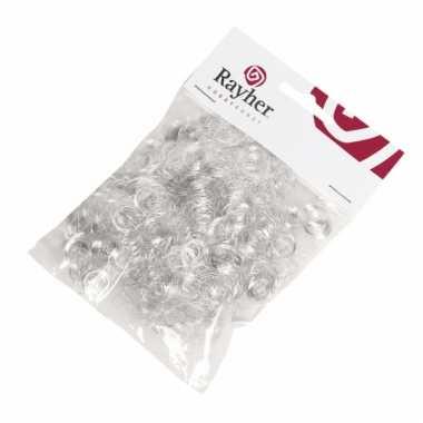 Engelenhaar krullen zilver 50 gram