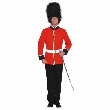 Engelse soldaat kostuums voor volwassenen