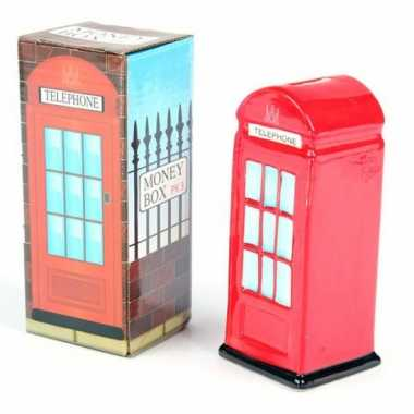 Engelse telefooncel spaarpot