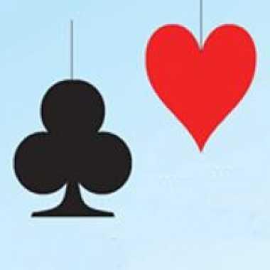 Etalageversiering harten