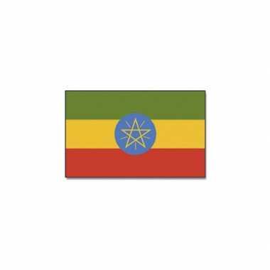 Ethiopische vlag 90x150 cm