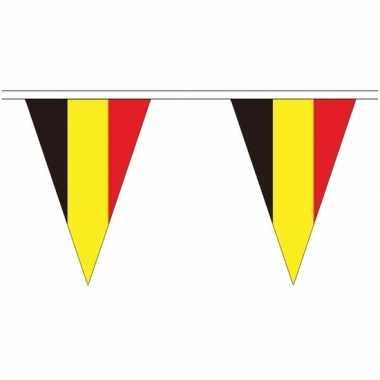 Extra lange belgie vlaggenlijnen van 20 meter