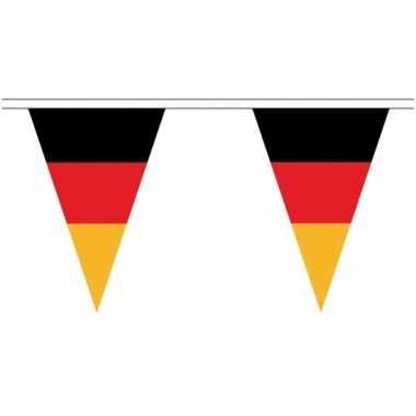 Extra lange duitsland vlaggenlijnen van 20 meter