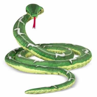 Extra lange slangen knuffel 4 meter
