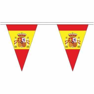 Extra lange spanje vlaggenlijnen van 5 meter