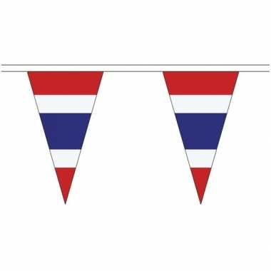 Extra lange thailand vlaggenlijnen van 5 meter