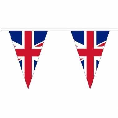 Extra lange verenigd koninkrijk vlaggenlijnen van 20 meter