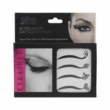 Eyeliner oog make-up stickers