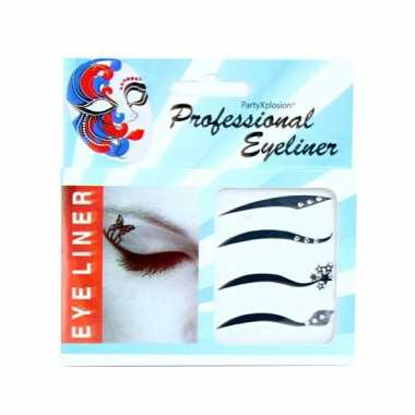 Eyeliner stickertjes
