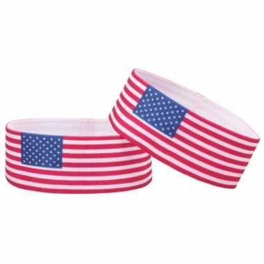 Fan armband amerika