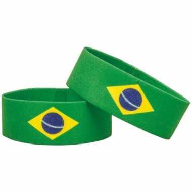 Fan armband brazilie