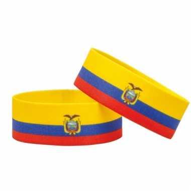 Fan armband ecuador