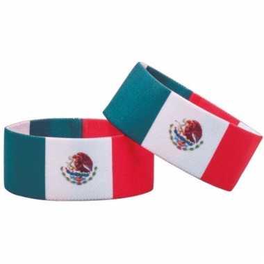 Fan armband mexico