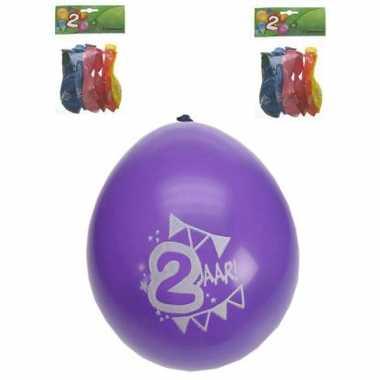 Feest ballonnen 2 jaar