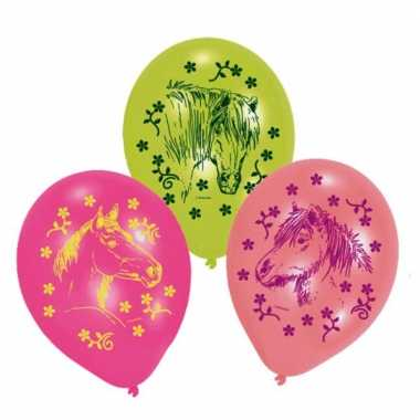 Feest ballonnen met paarden thema