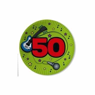 Feest borden 50 jaar groen