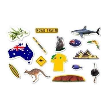 Feest confetti australie thema 300g
