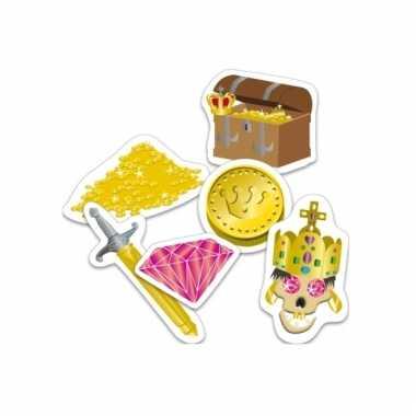 Feest confetti piraten thema