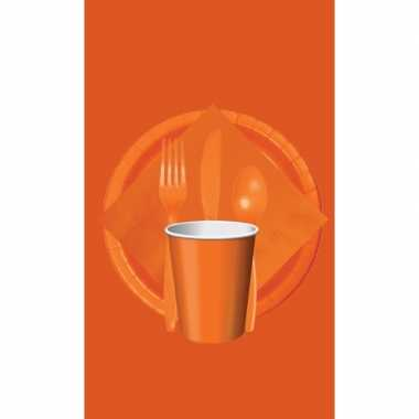 Feest decoratie pakket oranje holland supporter/fan