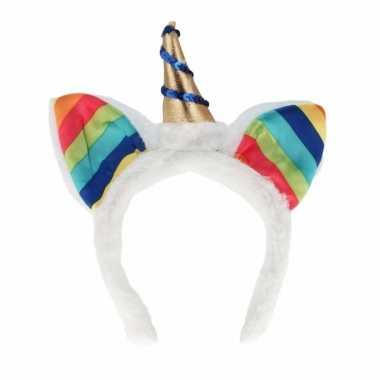 Feest eenhoorn hoofdband regenboog voor kinderen