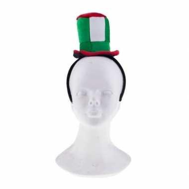 Feest hoofdband met italie hoedje