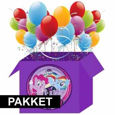 Feest my little pony versiering pakket
