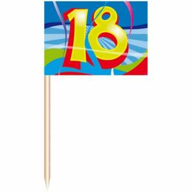 Feest prikkers 18 jaar