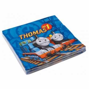 Feest servetten thomas de trein