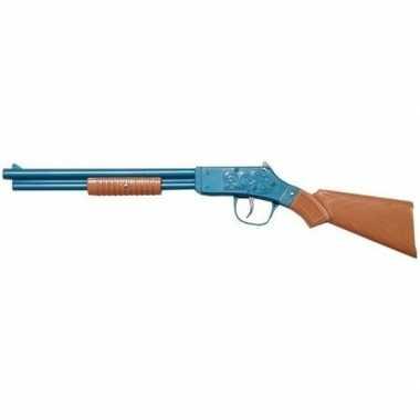 Feest/verkleed cowboy geweer shotgun 50 cm voor kinderen/volwassenen