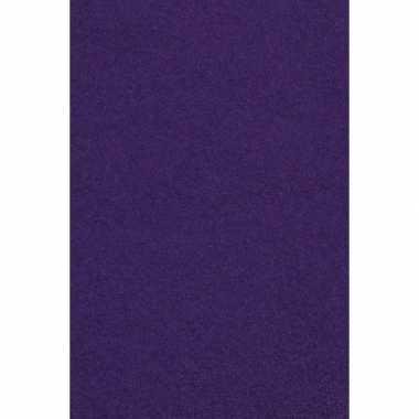 Feest versiering paars tafelkleed 137 x 274 cm papier