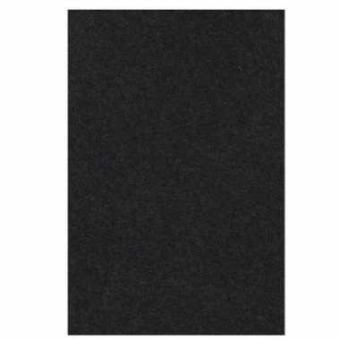 Feest versiering zwart tafelkleed 137 x 274 cm papier