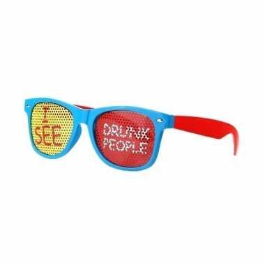 Feest zonnebril i see drunk people