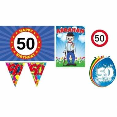Feestpakket 50 jaar abraham