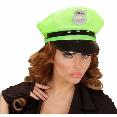 Fel groene politie pet