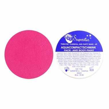 Fel roze schmink superstar