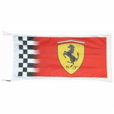 Ferrari vlag rood 150 x 75 cm